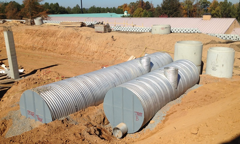 Corrugated Steel Pipe – Large Tanks