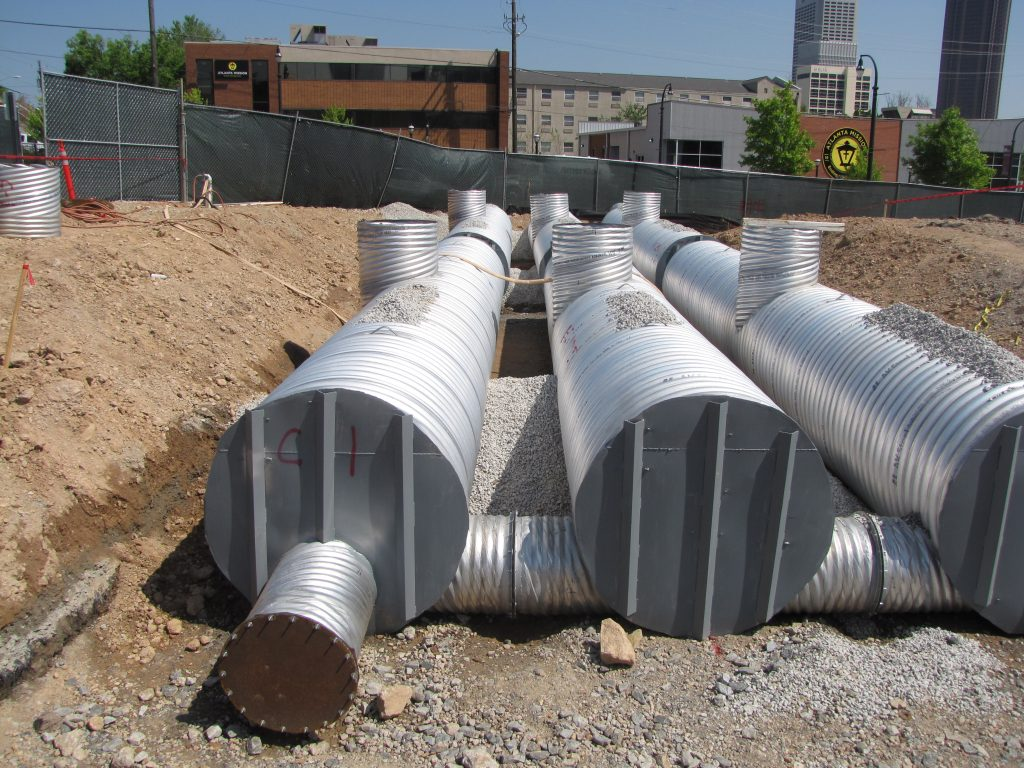 Corrugated Steel Pipe with Bulkheads